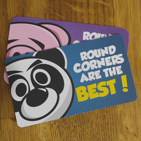 round corner business cards - Business Card Printing