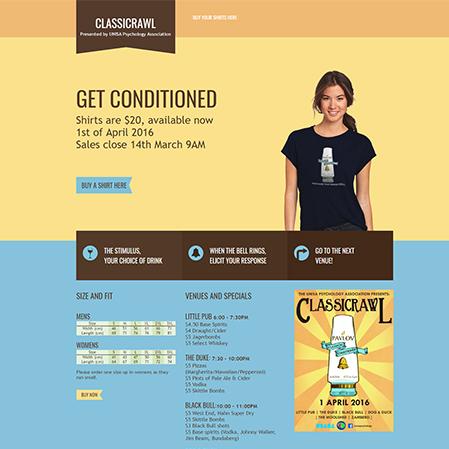 splash page website design